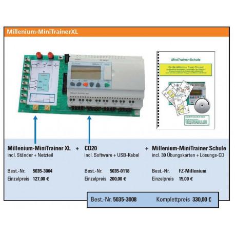 MiniTrainer - Kleinsteuerung Millenium CD20 inkl. Software und USB-Kabel