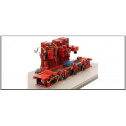 """Stand-Alone-Modell """"Taktstraße mit 3 Werkzeugmaschinen"""""""