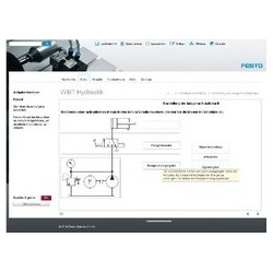 FESTO Lernprogramm Grundlagen der Hydraulik USB-Netzwerk-Version