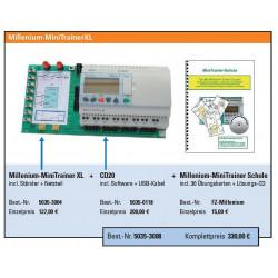 Kleinsteuerung Millenium CD20 inkl. Software und USB-Kabel