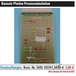PAL-Übungsboard Staubauffangbehälter Bausatz Platine