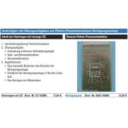 PAL-Übungsboard Reinigungsanlage Bausatz Platine