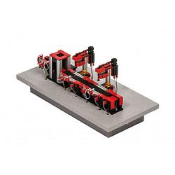 "Stand-Alone-Modell ""Kompakt-Taktstraße mit 2 Werkzeugmaschinen"""