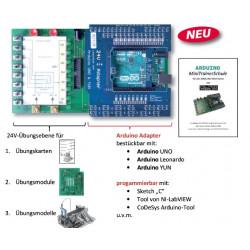 Arduino-MiniTrainer XL (ohne MTS, ohne Stiftleisten)