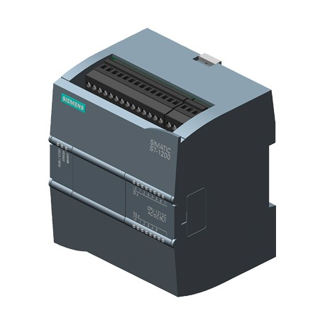 SIMATIC S7-1200, CPU 1212C, Kompakt-CPU, AC/DC/Relais