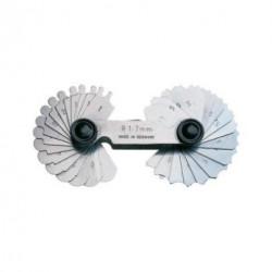 Radienschablone R 1 - 7 mm