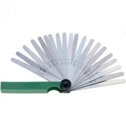 Fühlerlehren 8 Blatt 0,05-0,50 mm