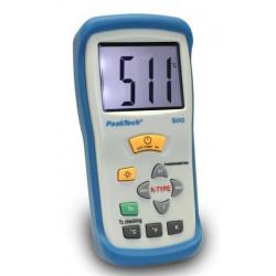 PeakTech Digital-Thermometer, 1 CH, 3 1/2-stellig, -50 ... +1300°C Genauigkeit von 0,5 % °C oder °F