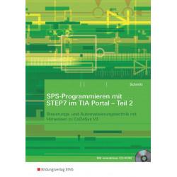 SPS-Programmieren mit STEP7 im TIA Portal - Teil 2 - Arbeitsheft