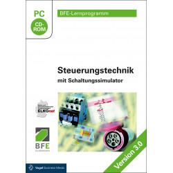 CD-ROM Lernprogramm Steuerungst. mit Schaltungssimulator