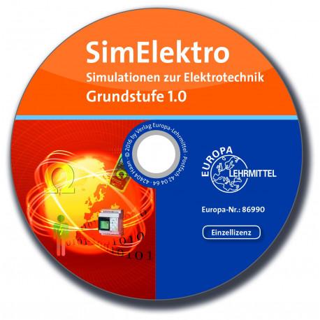 SimElektro Simulationen zur Elektrotechnik - Grundstufe 1.0