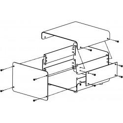 Edelstahlgehäuse 1008 - 2/180Z
