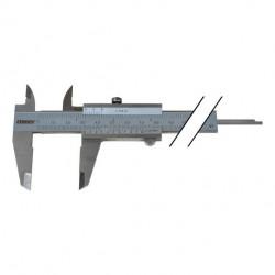 Taschenmessschieber 0-150mm mit Feststellschraube