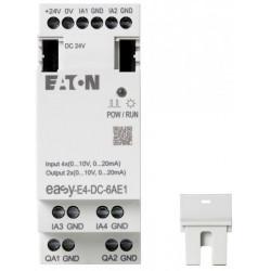 easy-E4-DC-6AE1 Logikmodul, 24 V dc, 6-Eingänge / 2-Ausgänge