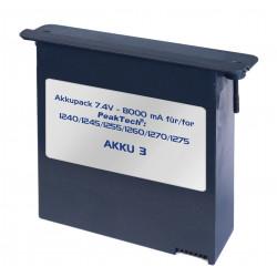 Li-Po Akku 7,4 V - 8000 mA/h für PeakTech 1190, 1230