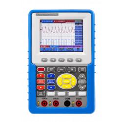 100 MHz / 2 CH Hand-Oszilloskop mit Digitalmultimeter