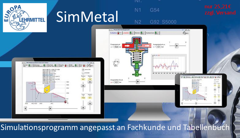 Simulationsprogramme Metall