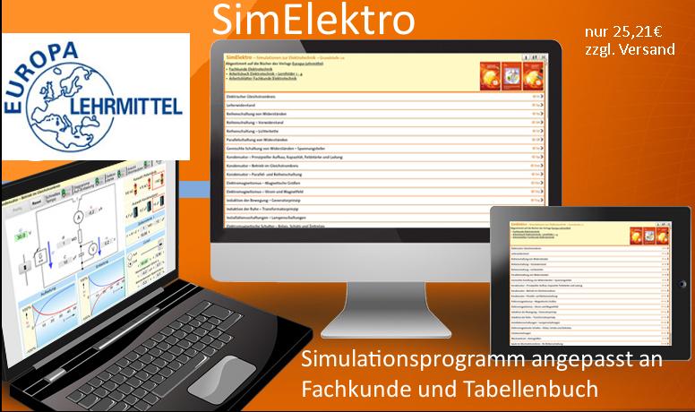 Simulationsprogramm Elektro vom Europa-Verlag